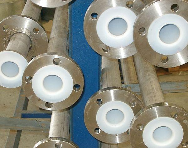 Suppply ptfe lined valve pipe teflon